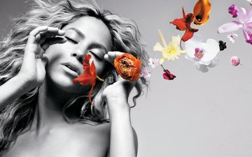 flowers, actress, singer, shakira