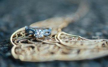 камень, кольцо, обручальное