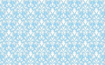 pattern, blue, 3d