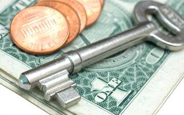 key, money, coins