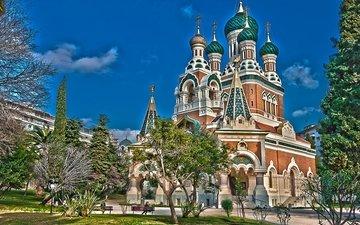 храм, франция, франци, ницца, saint nicholas orthodox cathedral, собор святителя николая чудотворца, николаевский собор