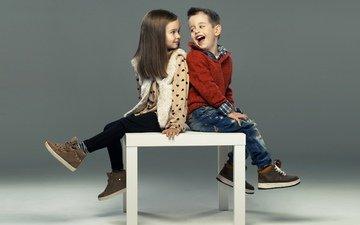 настроение, дети, радость, кеды, девочка, джинсы, кофта, мальчик, девочки, маленькая, друзья, друганы