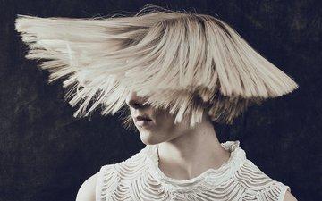 hair, singer, aurora aksnes