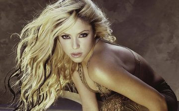 look, face, actress, singer, shakira