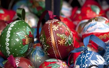 easter, eggs, holiday, decor