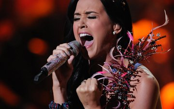 microphone, music, actress, singer, katy perry