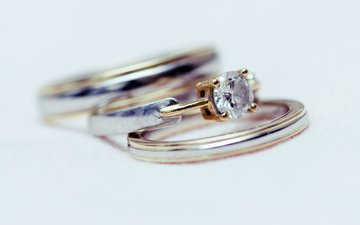камень, кольца, обручальные