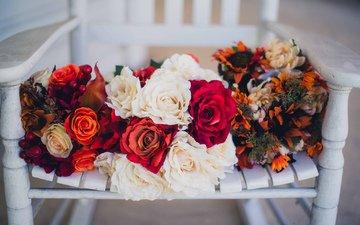 цветы, много, букеты