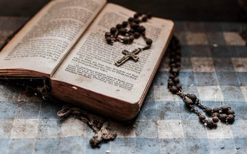 фон, пыль, крест, книга, крестик, старые книги