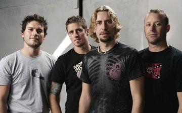 group, musicians, nickelback, chad kroeger, mike kruger, ryan peake, daniel adair, hard rock