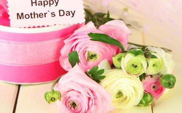 подарок, 8 марта, лютики, цветком, mothers day