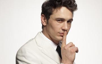 парень, актёр, мужчина, жест, джеймс франко