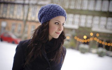 girl, hat, singer, lena meyer-landrut
