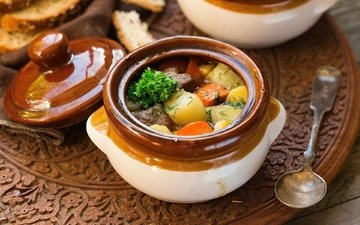 vegetables, hot, pot