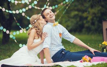 настроение, улыбка, романтика, пара, жених, невесты, невеста, смех, влюбленные, groom