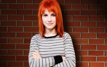 smile, red, singer, celebrity, hayley williams