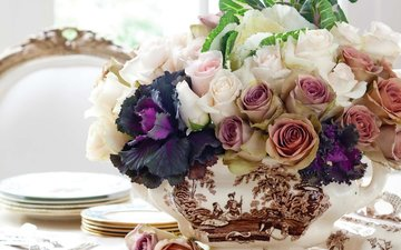 цветы, розы, роз, букеты
