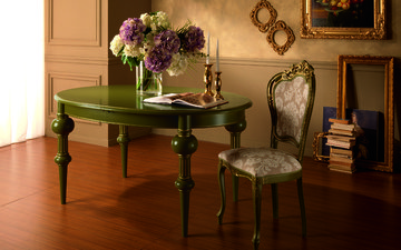 table, chair, classic, tomassi, classic interior