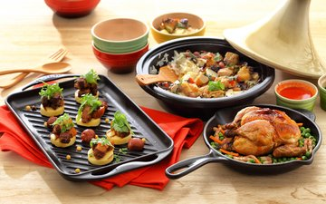 овощи, курица, картофель, куриное мясо