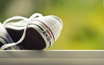 macro, sneakers, shoes, converse