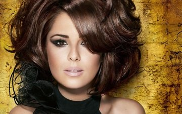 eyes, girl, face, singer, makeup, hairstyle, cheryl cole