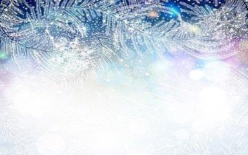 art, texture, winter, snowflakes, pattern