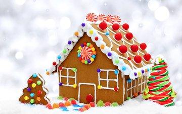 конфеты, сладкое, печенье, выпечка, бисквит, конфета, новогодняя, елочная, baking, сладенько