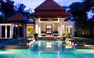 бассейн, тайланд, курорт, туризм, путешествие, banyan tree, пхукет, лучшие отели