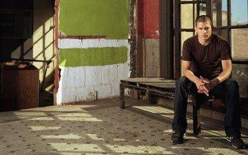 actor, sitting, male, wentworth miller