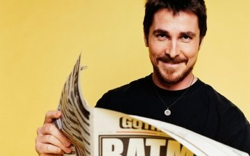 batman, actors, newspapers, christian bale