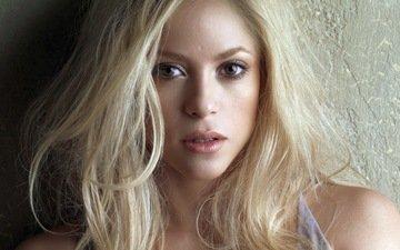 блондинка, музыка, певица, шакира, знаменитость