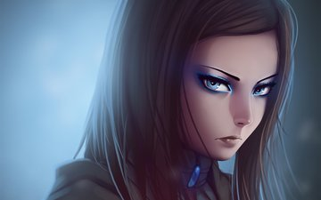 art, girl, anime, re-l mayer, ergo proxy