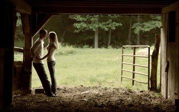 девушка, люди, парень, пара, двое, влюбленные