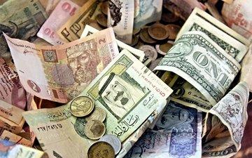 money, coins, bills, paper money, paper notes