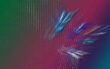 абстракция, цвет, форма