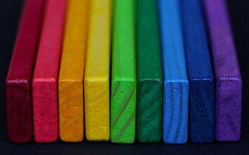 текстура, разноцветные, цвет, форма
