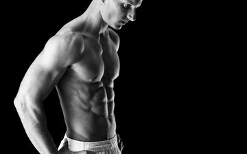 поза, мужчина, мужики, голая, мускулы, мышцы, бодибилдер