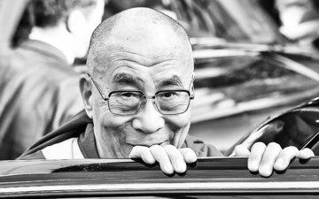 smile, face, dalai lama, the dalai lama