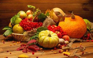 яблоки, осень, ягоды, урожай, овощи, тыква, натюрморт, осен, чеснок, красотуля