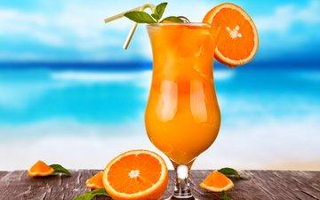напиток, фрукты, апельсины, апельсин, коктейль, плоды, водопой, тропический, тропическая, парное, летнее