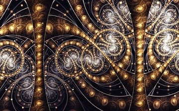 abstraction, background, patterns, fractal