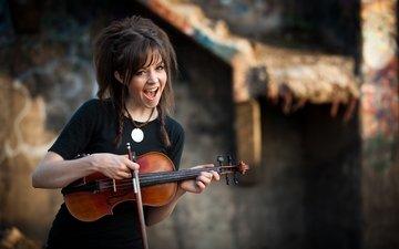 певица, композитор, линдси стирлинг, танцовщица, американская скрипачка, сценический артист