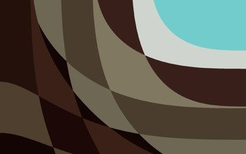 abstraction, line, white, material, brown, turquoise, lollipop