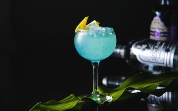 напиток, бокал, коктейль, алкоголь