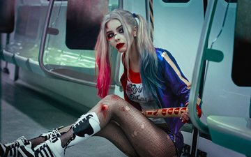 movie, harley quinn, cosplay, suicide squad, dccomics