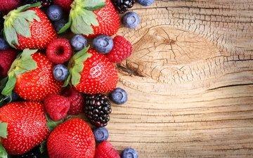 клубника, ягоды, лесные ягоды, черника, парное, сладенько