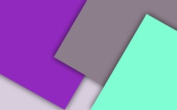 white, grey, material, lilac, geometry, green