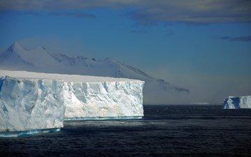 айсберг, антарктика