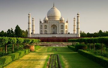 храм, замок, памятник, индия, тадж-махал, агра, тадж махал, pradesh, casstle