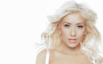 blonde, actress, singer, christina aguilera
